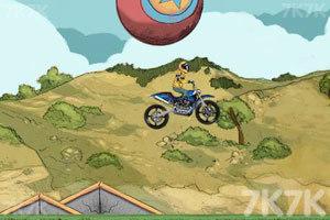 《摩托特技越野赛》游戏画面7