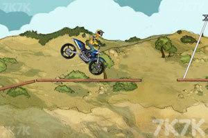 《摩托特技越野赛》游戏画面5