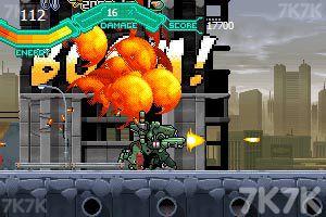 《疯狂机械人》游戏画面7