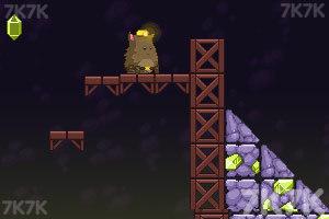 《胖胖猫山洞大闯关》游戏画面4