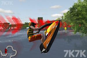 《3D极限摩托艇》游戏画面4