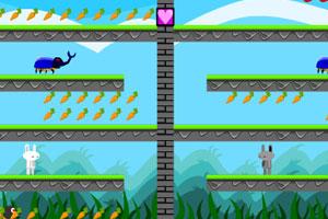 《小兔情侣》游戏画面1