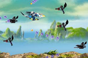 《乐高飞鹰战机》游戏画面1