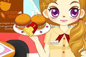 《阿sue美味汉堡店》游戏画面1