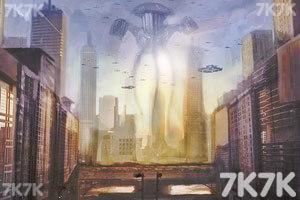 《狙击外星人部队无敌版》游戏画面3