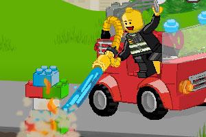 《乐高消防车》游戏画面1