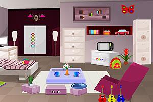 《敞亮的客厅逃脱》游戏画面1