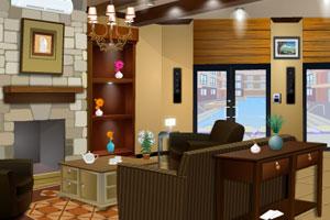《精致小客厅逃脱》游戏画面1
