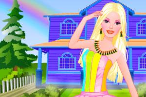 彩虹芭比图片