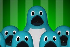 《企鹅找钥匙》游戏画面1