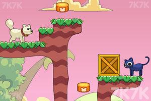 《友爱的猫猫与狗狗》游戏画面5