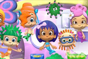 《美人鱼剪头发》游戏画面3
