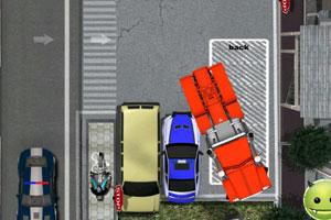 《大卡车艰难停车路》游戏画面1