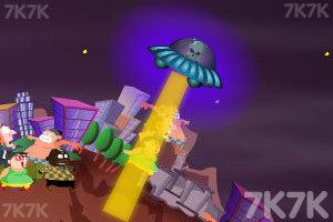 《飞碟入侵》游戏画面3