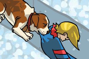 《雪山救援犬》游戏画面1