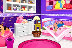 《给宝宝清理房间》游戏画面1