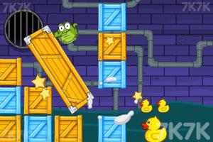 《小鳄鱼爱小黄鸭》游戏画面4
