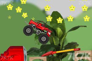 《玩具卡车破坏之路》游戏画面7