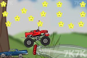 《玩具卡车破坏之路》游戏画面6