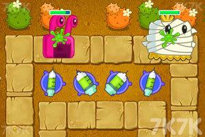 《保卫萝卜BOSS模式》游戏画面1