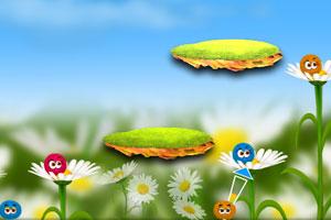 《彩色毛球配对》游戏画面1