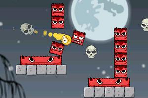 《消灭恶魔方块2选关版》游戏画面1