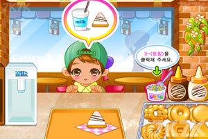 《可爱甜甜圈小店》游戏画面1