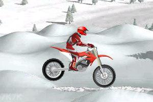《冰山雪地摩托车》游戏画面5