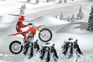 《冰山雪地摩托车》游戏画面7