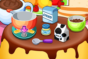 《巧克力布丁面包》游戏画面1