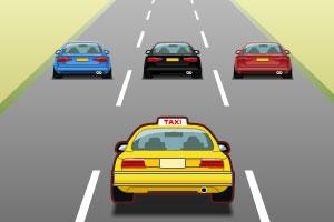 《出租车快跑》游戏画面1
