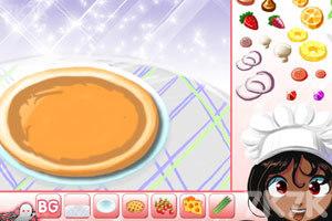 《制作水果比萨》游戏画面2