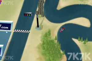 《F1方程式赛车双人版》游戏画面2