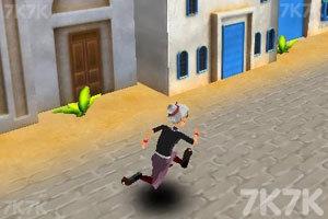 《愤怒奶奶玩跑酷3》游戏画面6