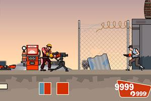 《哨兵堡垒无敌版》游戏画面1