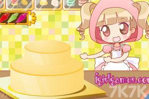 《制作生日蛋糕》游戏画面2