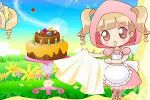 《制作生日蛋糕》游戏画面4