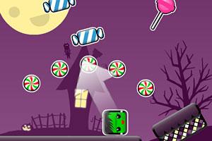 《万圣节方块吃糖果》游戏画面1
