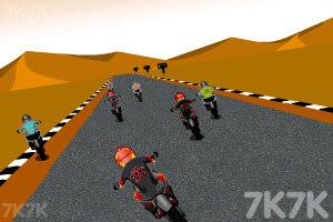 《摩托计时赛》游戏画面1