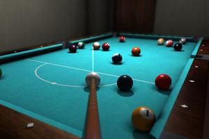 《3D台球训练》游戏画面1