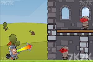 《投掷炸弹》游戏画面2