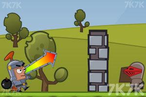 《投掷炸弹》游戏画面3