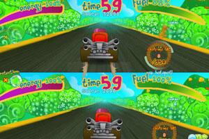 《卡丁车挑战赛无敌版》游戏画面1