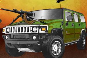 《武装悍马停车》截图1