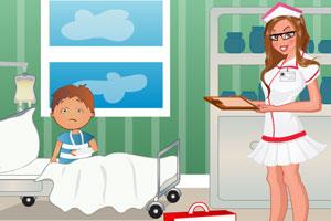 《装扮医院小护士》游戏画面1