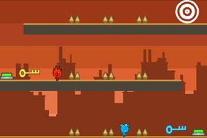 《森林冰火人6之地狱大逃亡》游戏画面1