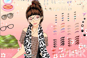 《新款性感豹纹衫》游戏画面3
