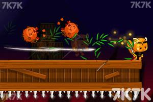 《剑猫一刀流无敌版》游戏画面1