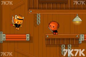 《剑猫一刀流无敌版》游戏画面2