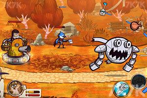 《天兵公园战争》游戏画面4
